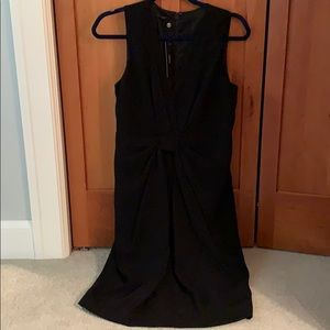 Talbots sz 8 little black dress